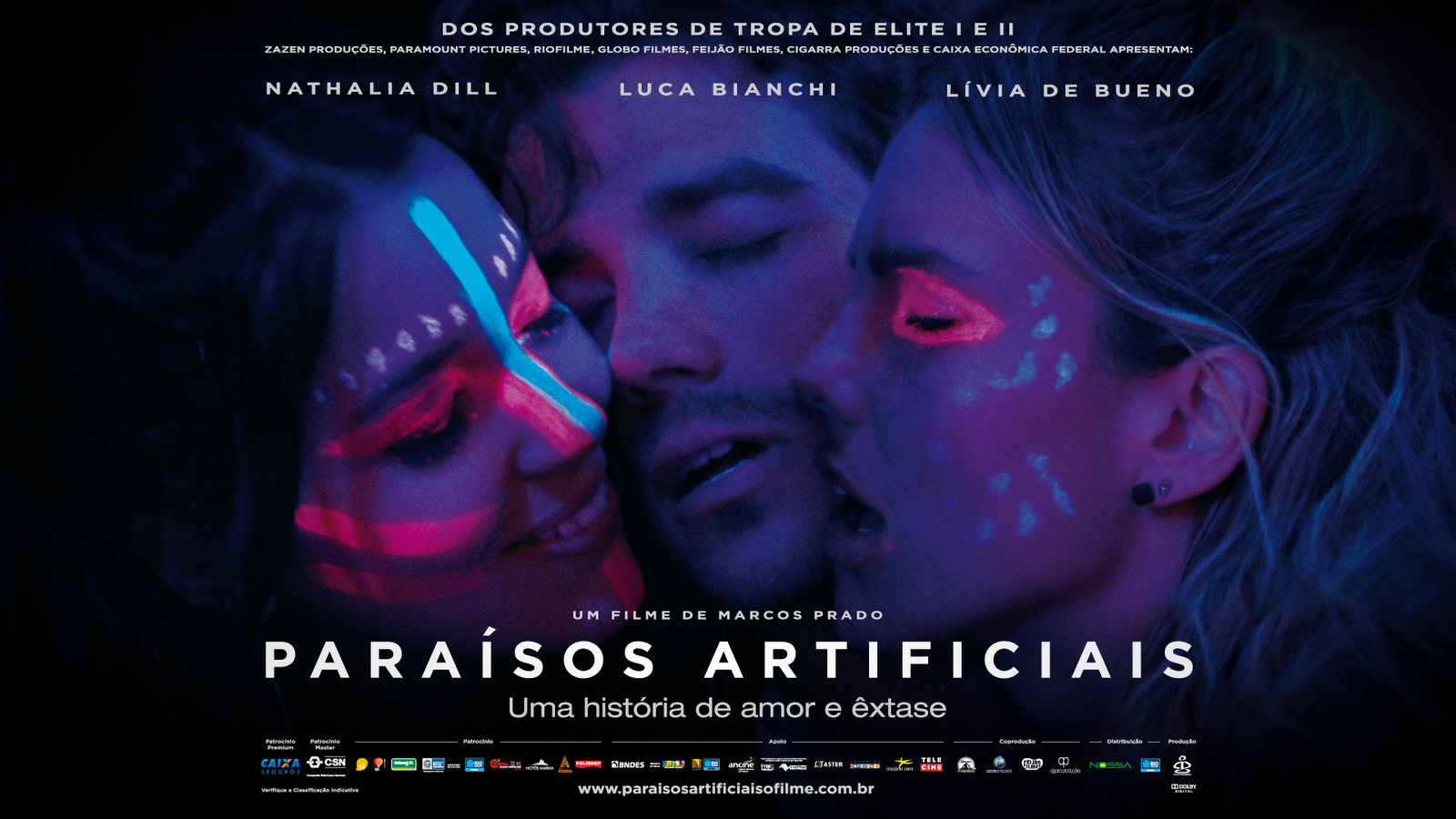 trilha sonora do filme paraisos artificiais